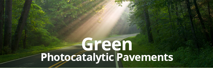 green technology green photocatalytic pavements tile image