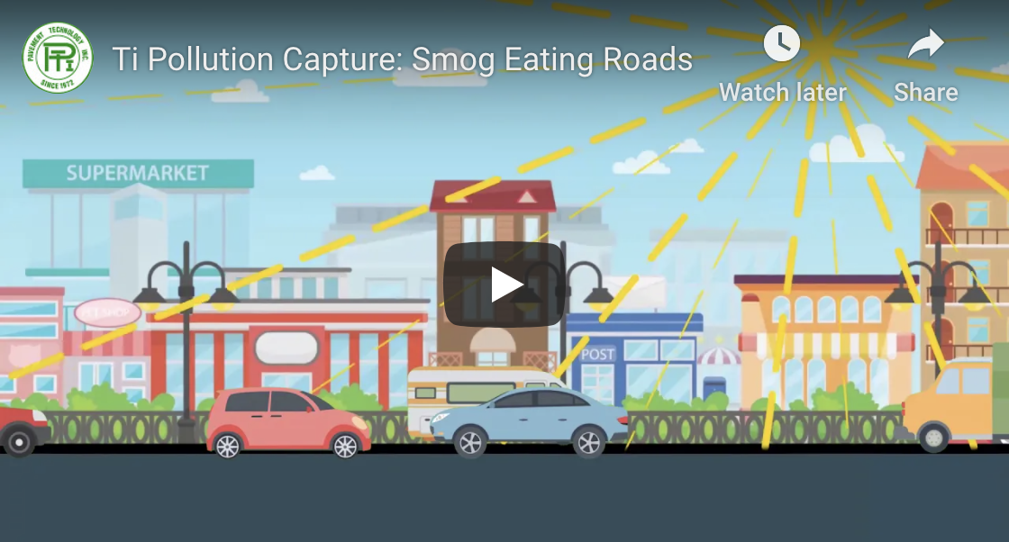 Ti Pollution Capture: Smog Eating Roads Video Thumbnail