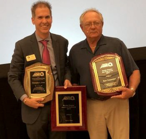 Pavement Technology Inc Reps Honored  by Florida APWA