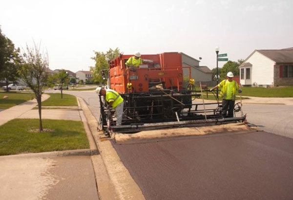 Micro-surfacing treatments help to correct minor cracking and improve skid resistance.
